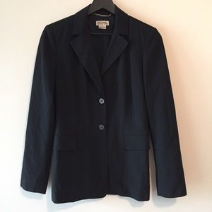 Michael Kors Black Two Button Blazer Jacket 6